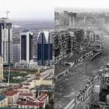 Грозный - до и после